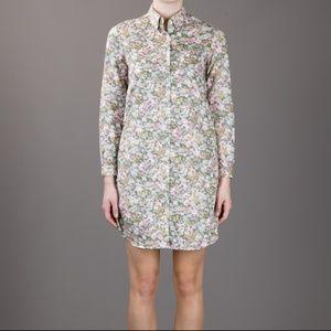 Steven Alan Moss Bouquet Liberty Shirt Dress